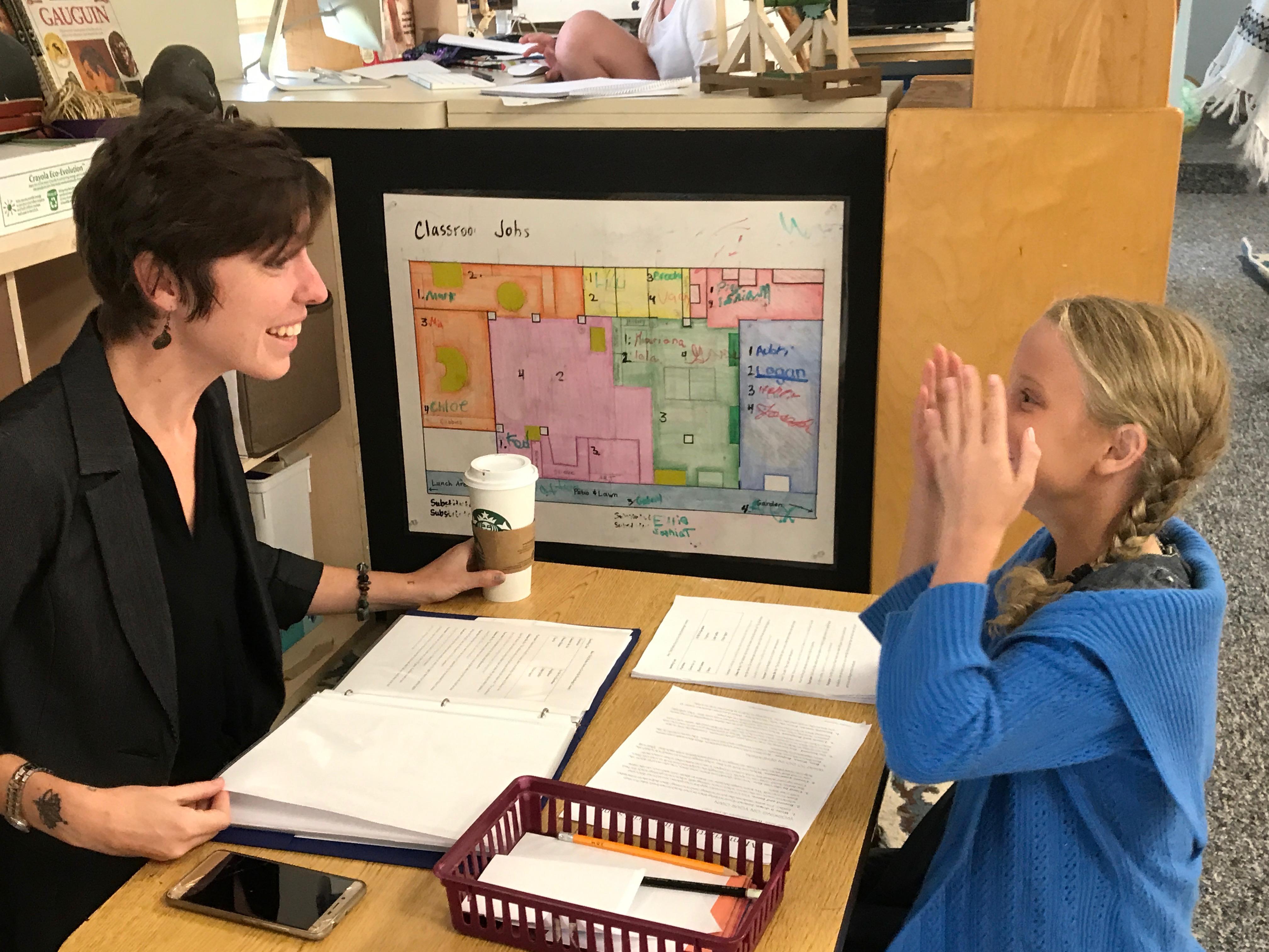 Montessori school Sarasota classroom